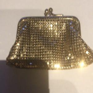 Whiting & Davis vintage change purse